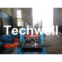 Best C Section Channel Roll Forming Machine with Gearbox Drive for Making Steel C Purlin wholesale