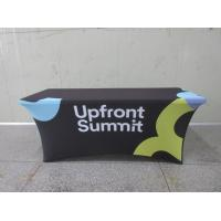Cheap Full Printed Advertising Flag Banners Large Branded Table Cloth for sale