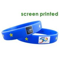 Best colourful custom fashion silicone wristbands wholesale