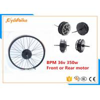 Best High Torque Electric Bike Kit Brushless Hub Motor 36v 350w 25-30km/h wholesale