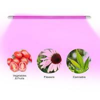 Cheap 4 Feet IP65 LED Tube Grow Lights Aluminu PC With Water Joint , 120° Angle for sale