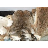 Best Coat Lining Whole Rex Rabbit Skin Real Soft Fluffy Heavy Density For Winter wholesale
