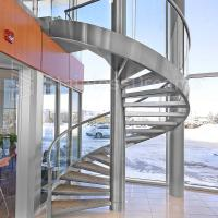 Best Modern Outdoor Steel Staircase Design Galvanized Spiral Staircase wholesale