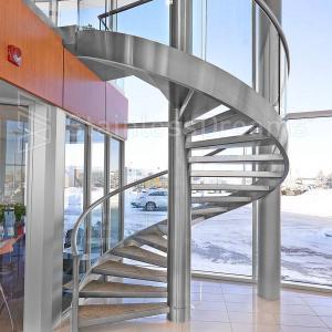 Best Modern Outdoor Steel Staircase Design Galvanized Spiral Staircase wholesale