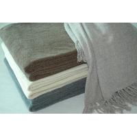 China Plain Weave 100% Acrylic Throw Blanket For Bed / Sofa Cover on sale