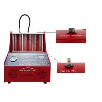 Best Gasoline Fuel Injector Tester And Cleaner / Car Injector Cleaning Machine wholesale