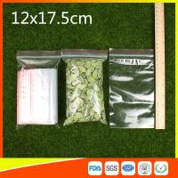 Best Plastic Tight Seal Ziplock Bags Packing Ziplock Bags With Zipper Red Line wholesale