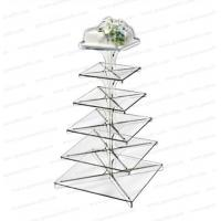 Best CD (126) square wedding cake stands wholesale
