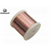 China Copper Based Nickel CuNi10 NC015 Rod Strip Wire Heating Resistance Material on sale