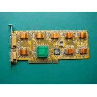 China 8CH Video&8CH Audio High Image DVR Card on sale