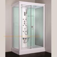 Best 1200 x 800mm rectangular steam shower bath cabin computer controlled wholesale