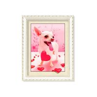 China Colorful Amazing Animal 5D Pictures 12x17 Inches  0.6mm PET Material on sale