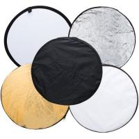 Best 110cm 5 in 1 Portable Photography Studio Multi Photo Disc Collapsible Light Reflector wholesale