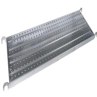 China Heavy Load Frame Scaffolding Walk Boards Height 45/50/38mm SGS / ISO Certificate on sale