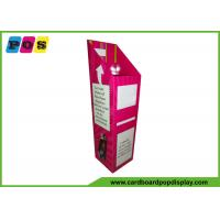 China Free Standing Cardboard Display Bins , Products Promotion Cardboard Dump Bins on sale