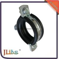 Best 18mm-200mm Dia Cast Iron Pipe Clamps with 45+-5° Shore Hardness wholesale