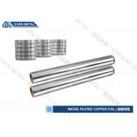 China High Hardness Custom Non - Weldable Nickel Plated Copper Sheet on sale