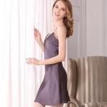 Best 100% Mulberry Silk Women bath Robe Silk Sleepwear slip dress Bathrobes Nightdress wholesale