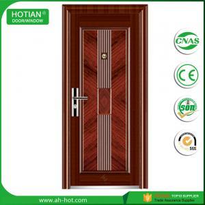 Best simple modern house main entrance steel security door, latest main gate design steel entry door for villa front door wholesale