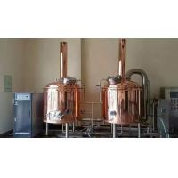 Best 500L 2 Vessel Craft Beer Brewing Equipment Turnkey Microbrewery Systems wholesale
