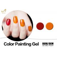 Best Beauty Nail Painting Design Gel Nail Art Paint With Different Size No Smudging wholesale