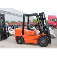 Best High Safety Operation Diesel Forklift Truck 3T With Long Fork And Fork Extension wholesale