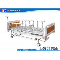 Best GT-XBE1405 Five Function Electric Hospital Bed Folded 6 rank aluminium handrail wholesale