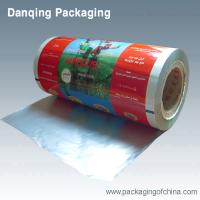 China Vivid Printed Aluminium Foil Food Packaging, Laminating Film For Doypack on sale