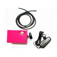 Best Lightweight 12 Volt DC 3 Colors Airbrush Mini Air Compressor for Makeup , Cosmetics , Tattoo wholesale