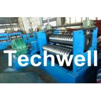 Best 0.25 - 4.0mm 3 Sets Rollers Corrugated Sheet Bending Machine With 0 - 10m/min Speed wholesale