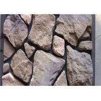 Quality Scattered Artificial Rock Siding For Villas / Railway Station Steam - Cured wholesale