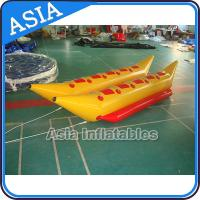 Quality Water Games Inflatable Boats Double Tubes Flying Fish Inflatable Banana Boat wholesale