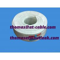 Best 16% Conductivity CCS, 48% AL Braiding RG6 Coaxial Cable With ROHS and CE passed 6.5usd/100 wholesale