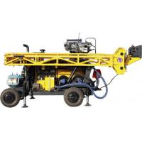 Best HWL Drilling Depth 1000m  Wheel Trailer Hydraulic Core Drilling Machine wholesale
