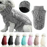 China Fashion Pet Clothes Customized Size Cute Dog Clothes For Autumn / Winter on sale