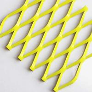 China A6063 Aluminium Wire Mesh , High Strength - To - Weight Ratio Aluminium Diamond Mesh on sale