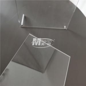 Best 100% VirginLucite Transparent Anti Scratch AcrylicSheet 1/4 Inch 48'X96' PMMA wholesale