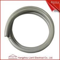 Cheap Gray 1/2 Liquid Tight Flexible Electrical Conduit PVC Coated With Cotton Wire for sale