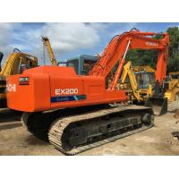 Buy cheap 20 Tonne Second Hand Hitachi Excavator EX200-1 , Hitachi Earth Moving Equipment from wholesalers