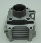 50cc Motorcycle Cylinder Block For SYE Taiwan Sanyang , Aluminum Alloy Cylinder