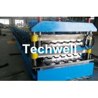 Best Chain Transmission Double Layer Roll Forming Machines For Corrugated Sheets wholesale