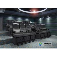 Best Electric 4D Cinema Seats For Commercial Theater With Several Special Effect And 4D System wholesale