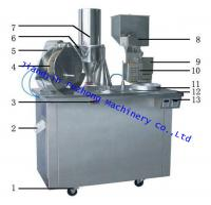 China Wholesale Semi-Auto Capsule filling machine china manufactory on sale