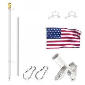 Best Length 6ft Rust Free Coated Aluminum Flag Pole Bracket For House wholesale