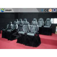 Best Motion Chair For 5D Movie Theater With Fiberglass And Genuine Leather Material wholesale