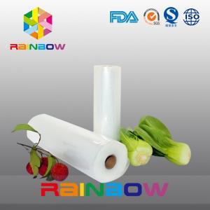 China Nylon Embossed Vacuum Bag / Food Packaging Films Roll High Barrier on sale