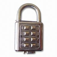 Buy cheap Zinc-alloy Digital Pad Lock with 8 Digits from wholesalers
