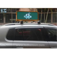 Best PH5MM CE Full Color IP65 40000 Dots Car LED Sign Display Taxi Roof  W160 H160 Aluminum cabinet wholesale