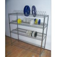 Best ODM Industrial Wire Shelving  , Chrome Plated Shelf Component Reels Double Side Storage Shelving wholesale