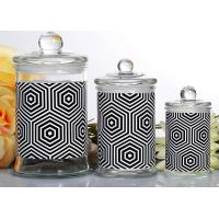 Best Customized Candle Glass Containers Storage Jar With Lid 710ml wholesale